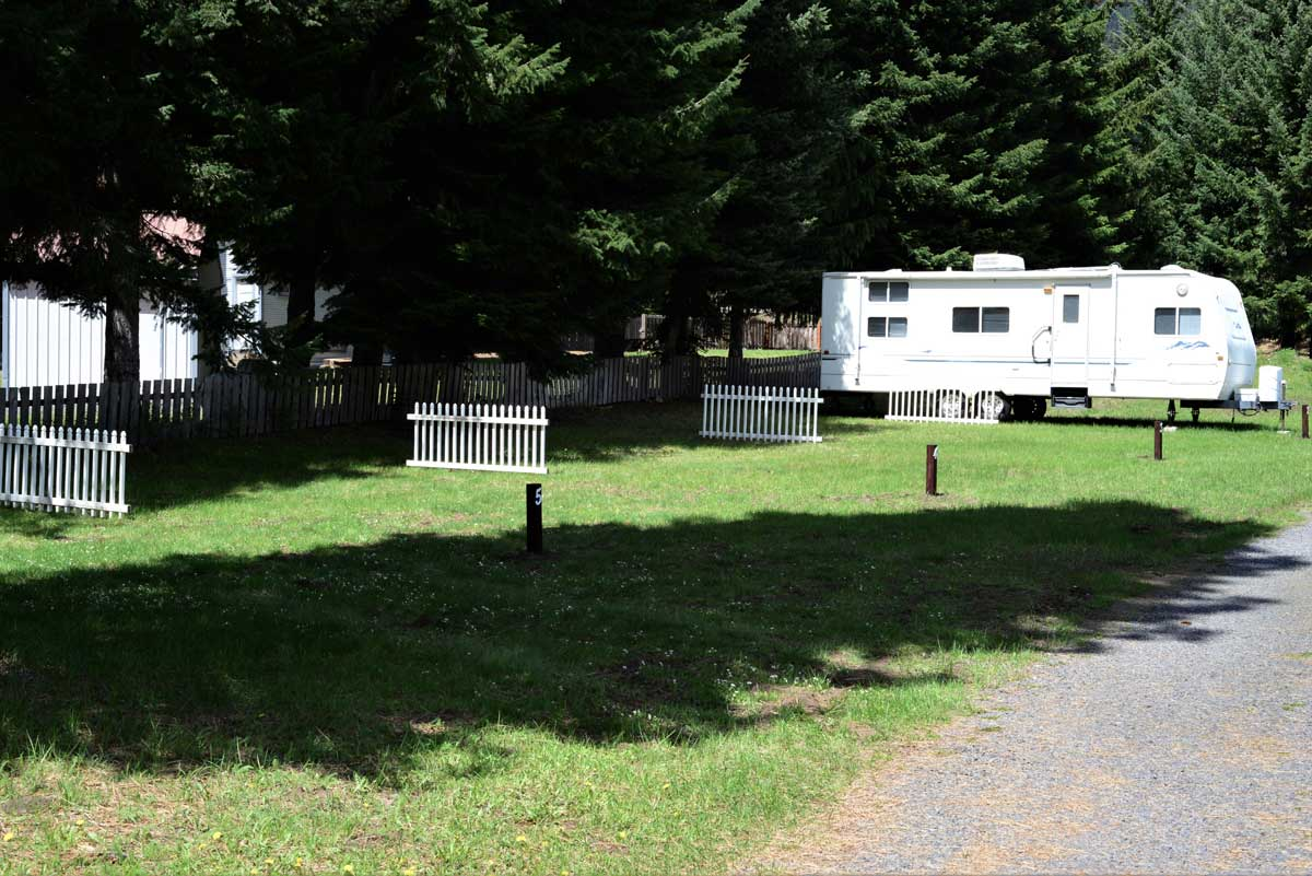 RV Campground near Bumping River